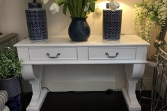 Hampton Manhattan Console (2 or 3 Drawers - White or Black)