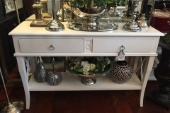 The French Corner Hampton Console (2 or 3 Drawers - White or Black)