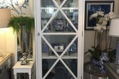 Hampton 1 Door Display Cabinet