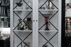 Hampton 2 Door Display Cabinet