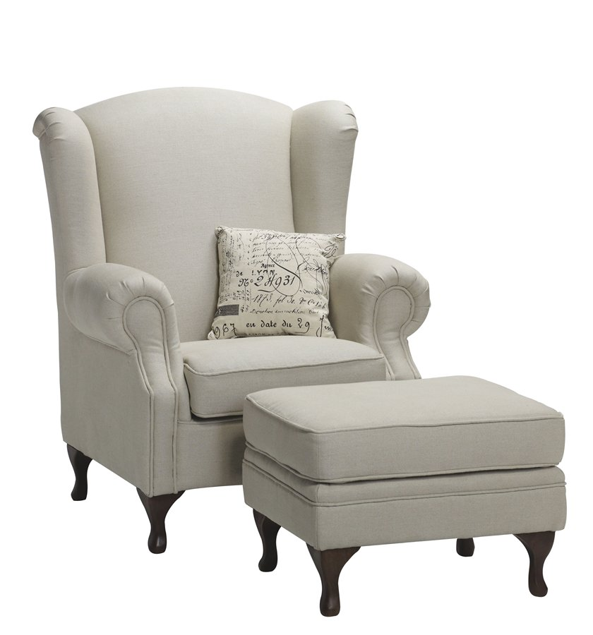 Versaille Wing Chair - The French Corner The French Corner