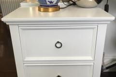 Hampton 2 Drawer Bedside Table