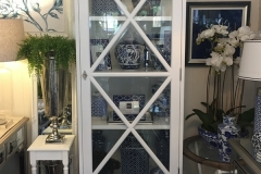 Hampton 1 Door Display Cabinet