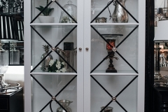 Hampton 2 Door Display Cabinet